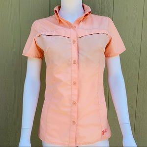 Offshore Armour short sleeve button down shirt XS